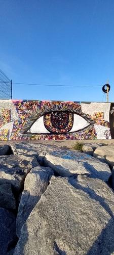 Wallspot - SMcreations -  - Barcelona - Forum beach - Graffity - Legal Walls -