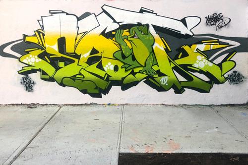 Wallspot - ESPRIT - ESPRIT - Montréal 2019 - Montréal - Rouen - Graffity - Legal Walls - Letters, Illustration