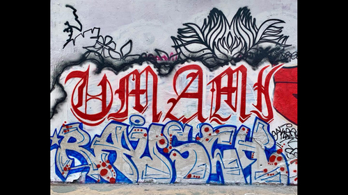 Wallspot - Ragazzi - Tres Xemeneies - Barcelona - Tres Xemeneies - Graffity - Legal Walls - Letters