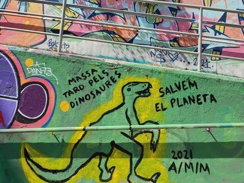 Wallspot - mbg -  - Sant Cugat - Rampes la floresta - Graffity - Legal Walls -