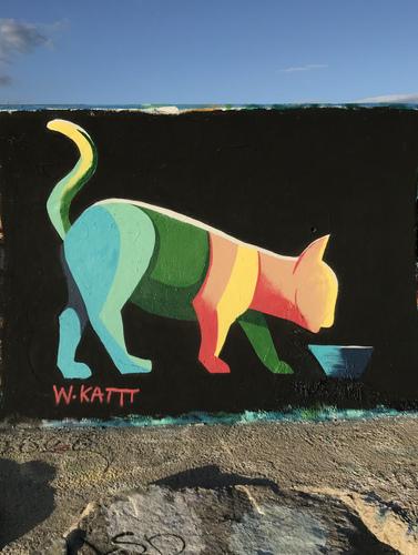 Wallspot - W.Kattt - Forum beach - W.Kattt - Barcelona - Forum beach - Graffity - Legal Walls - Illustration