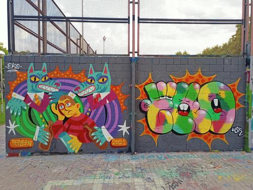 Wallspot - Pepasso - Drassanes - Barcelona - Drassanes - Graffity - Legal Walls - Letters, Illustration