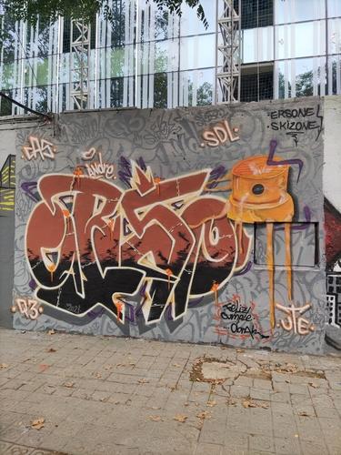 Wallspot - skizone - Selva de Mar - Barcelona - Selva de Mar - Graffity - Legal Walls - Letters, Illustration