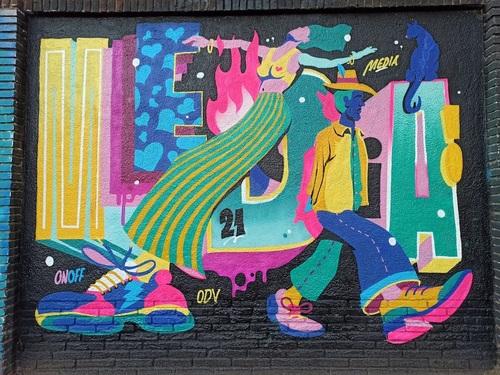 Wallspot -evalop - evalop - Proyecto 07/10/2021 - Barcelona - Selva de Mar - Graffity - Legal Walls -