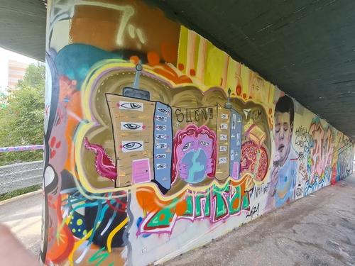 Wallspot - Del Reves -  - Barcelona - El pont de la ronda - Graffity - Legal Walls -