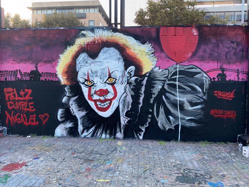 "Wallspot - PETERGRAFF - Primer Realismo ""Drassanes"" #PETER - Barcelona - Drassanes - Graffity - Legal Walls - , ,"